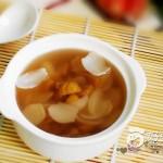 鲜百合栗子甜汤