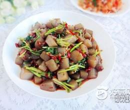 香菜魔芋豆腐