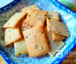 葱香苏打饼干