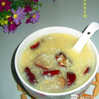 双米枣片粥