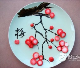 腊梅水果拼盘
