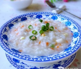 鲍鱼蔬菜粥