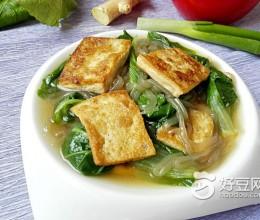 小白菜炖豆腐粉条