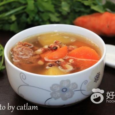 雪莲果猪骨汤