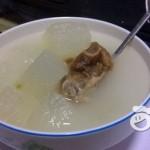 咸排骨冬瓜汤