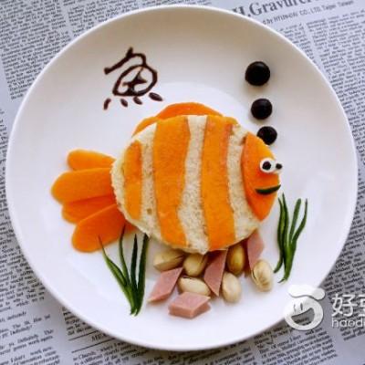 木瓜鱼早餐拼盘