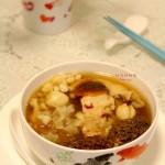 羊肚菌炖螺片汤