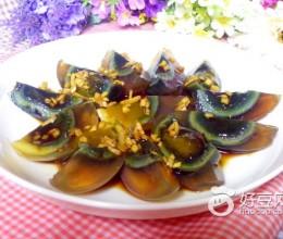 姜汁松花蛋