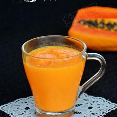 木瓜胡萝卜酸奶