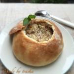 浓汤面包盅