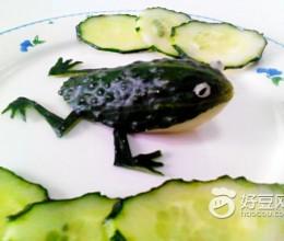青蛙拼盘(水果拼盘)