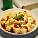 清蒸老豆腐