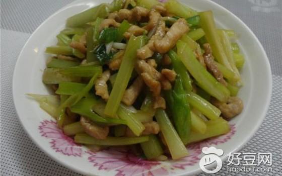 芹菜炒瘦肉