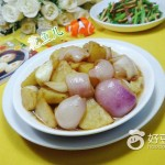 洋葱茭白炒土豆