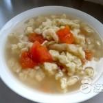 鸡蛋番茄疙瘩汤