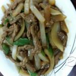 尖椒洋葱炒牛柳