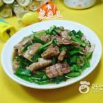韭菜炒虾蛄