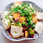 油澆北豆腐