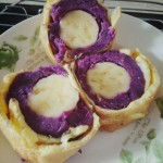 紫薯香蕉卷