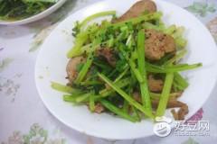 香芹炒火腿