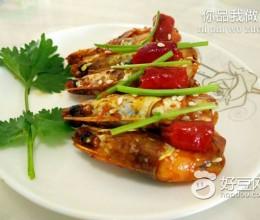 豆瓣酱焖虾