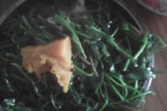 南瓜红薯叶