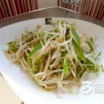 青椒炒豆芽