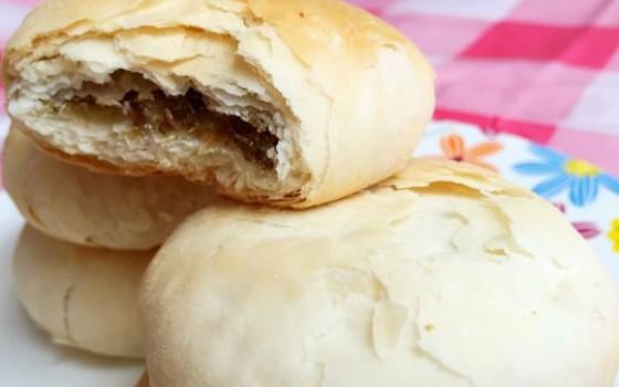 豆沙千层酥饼