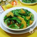 韭菜炒土豆