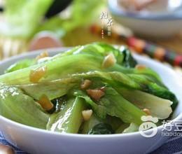 蒜香蚝油生菜