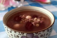 双豆红枣莲子粥