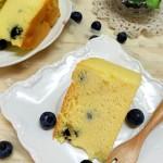 【手工美食】蓝莓蛋糕