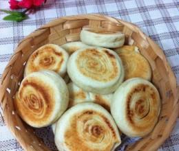 豆渣发面酥油饼