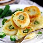 儿童长高食谱--秋葵土豆