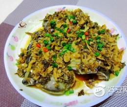 梅菜蒸鲩鱼头