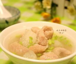 猪颈肉冬瓜汤