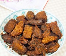五香猪肉干