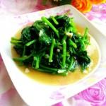 蒜茸木耳菜
