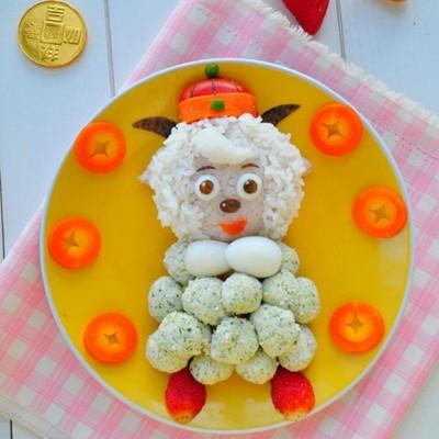 喜羊羊拜年餐盘