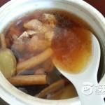 杜仲猪腰龙骨汤