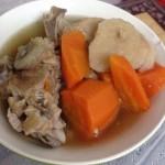 粉葛胡萝卜猪骨汤