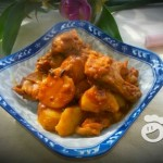 麻辣鸡腿炖土豆