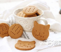 红糖麸皮消化饼干