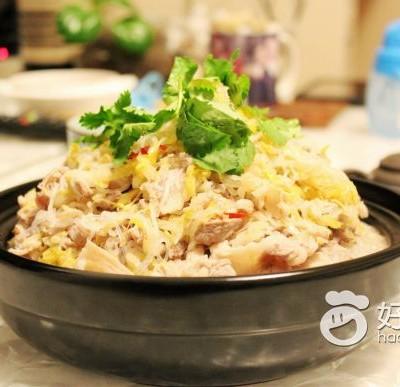 酸菜羊肉粉丝煲
