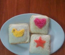 童趣爱心早餐