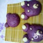紫薯小熊馒头