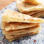 馄饨皮葱油小饼