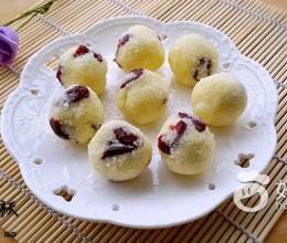 自制椰蓉蔓越莓馅