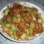 炝炒白菜豆制品