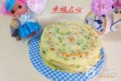 韭菜鸡蛋软饼